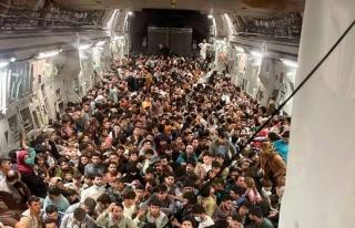 Rusya, Afganistan'dan Kalkan ABD Kargo Uçağının...