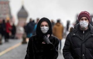 Rusya'da corona virüsünden günlük ölüm sayısı...