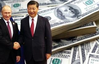 Rusya ve Çin'den dolara büyük darbe: İki ülke...