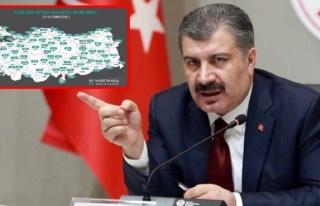 Sağlık Bakanı Fahrettin Koca il il açıkladı!...