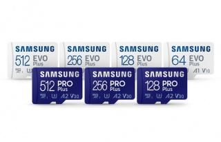 Samsung yeni SD kartlarını duyurdu
