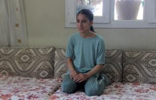 Şanlıurfalı 13 yaşındaki hentbolcu Merve Akpınar...