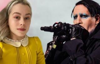 Şarkıcı Phoebe Bridgers: Marilyn Manson'un evinde...