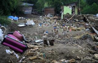 Sel Felaketinde Kaybolan Vatandaşların Sayısı...