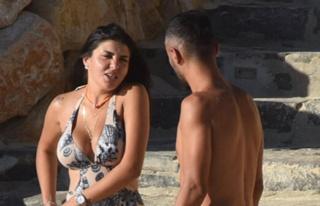 Selçuk Şahin, eşiyle tatilde