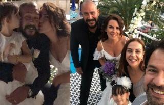 Seren Fosforoğlu sürpriz aşkıyla evlendi