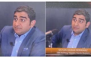 Sezgin Baran Korkmaz'ın Cumhurbaşkanı Erdoğan...