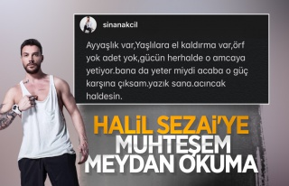 Sinan Akçıl'dan Halil Sezai'ye sert tepki