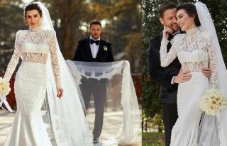 Sinan Akçıl ve Burcu Kıratlı yeniden evlendi