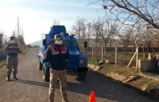 Sivas'ta mutasyonlu virüslü karantinası