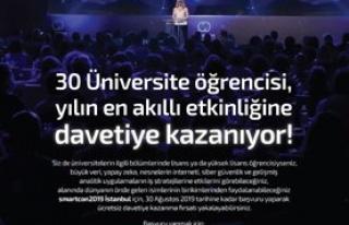 smartcon2019 30 öğrenciye ücretsiz