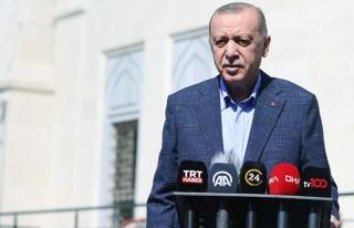Son Dakika Cumhurbaşkanı Erdoğan'dan ABD Başkanı...