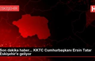 Son dakika haber... KKTC Cumhurbaşkanı Ersin Tatar...