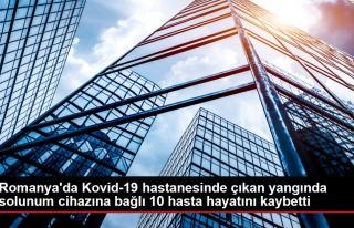 Son dakika haber | Romanya'da Kovid-19 hastanesinde...