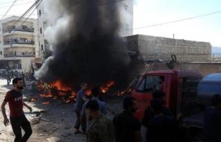 Son dakika haberi... Afrin'de park halindeki araç...
