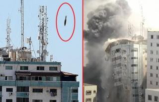 Son dakika! İsrail'in Gazze'deki medya binasını...