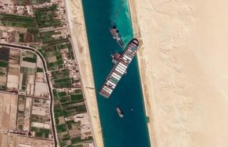 Son dakika: Süveyş Kanalı'ndaki kriz sona erdi!...