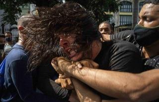Sosyalist Küba, Hükümet Karşıtı Gösterilerle...