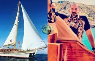 Soy Demirer'den Bozcaada'da tekne keyfi
