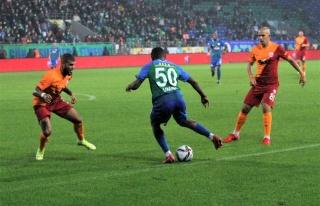 Süper Lig: Çaykur Rizespor: 2 - Galatasaray: 3 (Maç...
