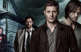 Supernatural dizisinin başrol oyuncusu Jensen Ackles...