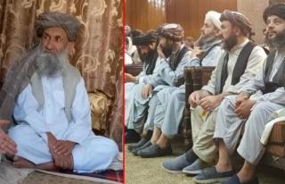 Taliban hükümetinin yeni Başbakanı Ahund ilk kez...