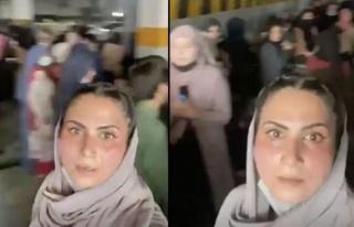 Taliban karşıtı kadın protestocular bodrum kata...