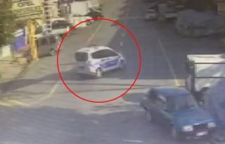Tamir İçin Bırakılan Polis Arabasıyla Hırsızlık...