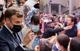Tapınak ziyaretine giden Macron, 'Sen bir ateistsin'...