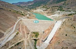 Taşevler barajı, 8 bin dekar araziye can suyu olacak