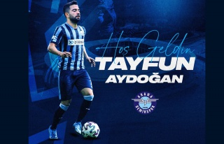 Tayfur Aydoğan Adana Demirspor'da
