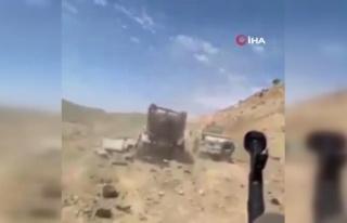Terör örgütü PKK, Duhok'ta Peşmerge güçlerine...