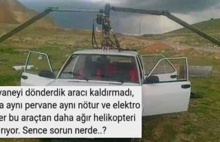 Tofaş Şahin'e Pervane Takınca Helikopter Gibi Uçacağını...