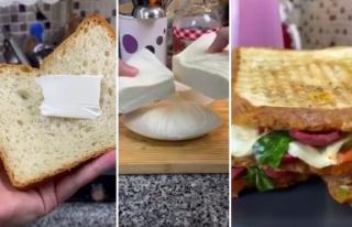 Tost İçin Kendi Ekmeğini ve Peynirini Yapan Adama...