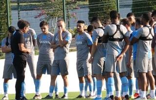 Trabzonspor'da tatsız antrenman
