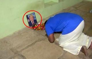Trump'a tapan Hindistanlı adam, 'Korona oldu' haberini...