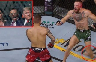 Trump'ın da izlediği dövüşte Conor McGregor'un...