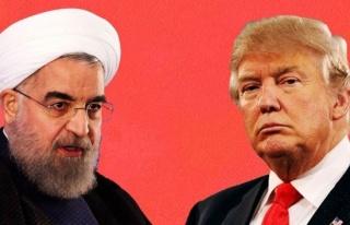 Trump: Ön şartsız Ruhani ile görüşmeye hazırım