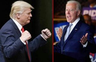 Trump'tan ABD Başkanı Joe Biden'a boks göndermesi:...