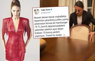 Tuğba Özerk'ten Nusret'e ağır sözler!