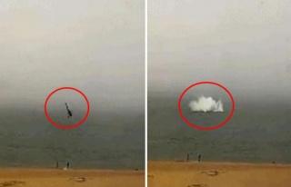 Turist taşıyan helikopter denize çakıldı: 3 ölü,...