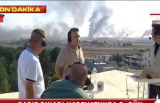 Türk Habercilere Canlı Yayındayken Keskin Nişancı...