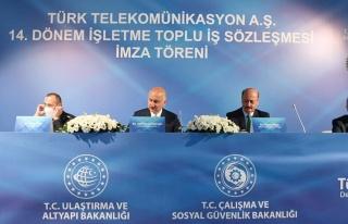 Türk Telekom ile Türk-İş arasında toplu sözleşme...
