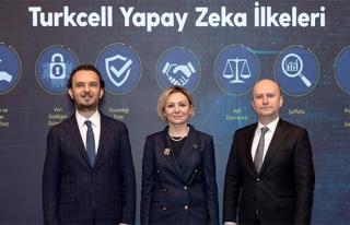 Turkcell, yapay zeka çalışmalarında uyacağı...