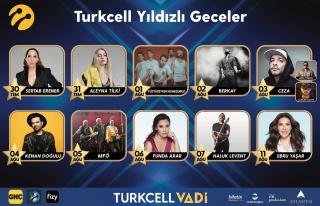 Turkcell Yıldızlı Geceler konserleri başlıyor