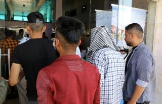 Türkiye'deki Suriyeli mülteciler Kurban Bayramı...