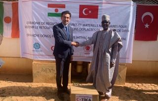 Türkiye'den Nijer'in Diffa bölgesine insani yardım