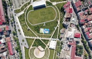 Türkiye'nin ilk spor temalı millet bahçesi hizmete...