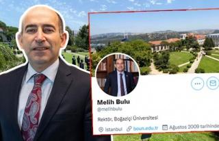 Twitter Bio'sunda Hâlâ 'Rektör' Yazan Melih Bulu'nun...