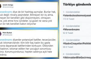 Twitter'da Açılan '#Morardınızmı' Etiketine Tepki...